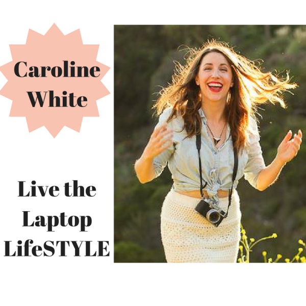 Caroline White. Laptop LifeSTYLE